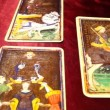 Tarot Cards 01 dolly right — Stock Video #16032759