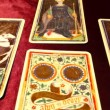 Tarot Cards 02 dolly left — Stock Video #16034239