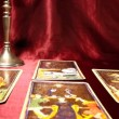 Tarot Cards 04 dolly right — Stock Video