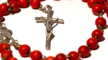 ватиканский розарии кастрюли — Стоковое видео