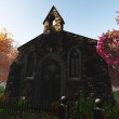 Autumn in Cemetery 3D render 3 — Stock Photo #18418971