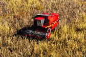 Agriculture Harvester Concept 3D render — Stock Photo