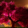Magical cherry tree, 3D render — Stock Video #19514029