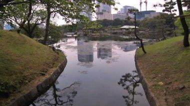 日本庭園 — ストックビデオ