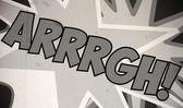 Comic Marvel Design vintage design — Stock Photo