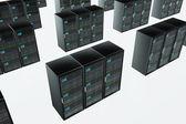CPU Server Unit Room — Stock Photo