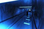 Couloir de l'hôpital d'horreur effrayant — Photo