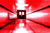 Scary Horror Hospital Corridor — Stock Photo