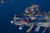 Norský přístav — Stock fotografie