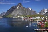 Town of Reine on Lofoten — Stock Photo