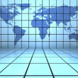 World map background — Stock Photo