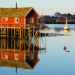 Fishing house — Stock Photo