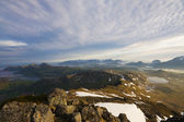 Lofoten-panorama — Stockfoto