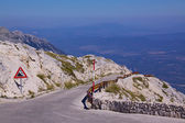 Mountain road in Croatia — Stock Photo