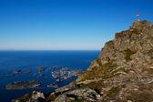 Norska naturen — Stockfoto