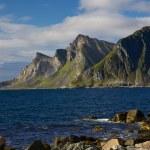 Постер, плакат: Cliffs on norwegian coast