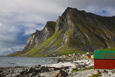 Costa norvegese — Foto Stock