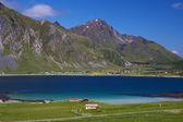Fjord na lofoty — Stock fotografie