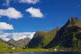 Paesaggio norvegese — Foto Stock