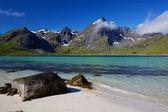 Norské pláže — Stock fotografie