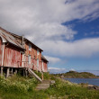 Stock Photo: Old decaying fishing house