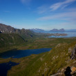 Natural landscape in Norway — Stock Photo