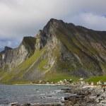 Lofoten rocky coast — Stock Photo #18536085