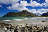 Arctic beach — Stock Photo