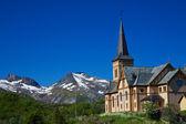 Lofoten cathedral — Stock Photo