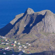 Sorland on Lofoten — Stock Photo