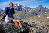 Viajando na noruega — Foto Stock