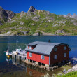 Fishing hut — Stock Photo