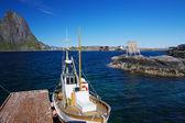 Fishing boat — Stok fotoğraf