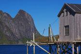 旧渔港 — 图库照片