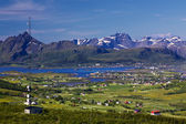 Norway panorama — Foto de Stock