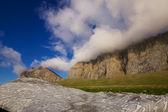 Coastal clouds — Stock Photo