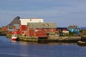 Nordic balıkçı limanı — Stok fotoğraf