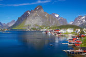 Scenic Norway in summer — Stock Photo