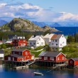Norwegian village — Stock Photo #23589321