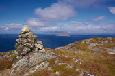 Norwegian coast scenery — Stock Photo