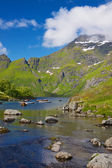 озеро в норвегии — Стоковое фото