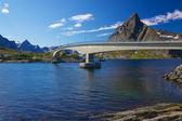 Bridge in Norway — Stock Photo