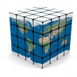 World cube — Stock Photo #23751191