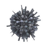 City planet — Stock Photo