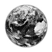 黒い地球 — ストック写真