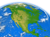 North America on Earth — Stock Photo