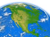 North America on Earth — Stock Photo