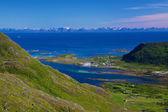Norwegian coast — 图库照片