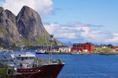Fishing port in Norway — Stock Photo
