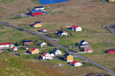Pueblo en noruega — Foto de Stock
